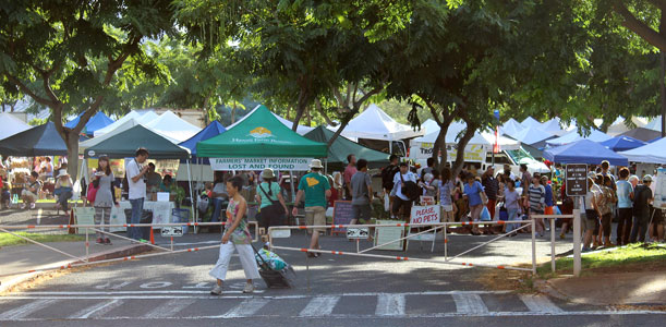 Saturday's Farmers Market Cancelled