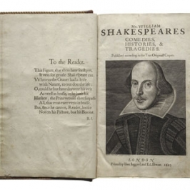 William Shakespeare's First Folio
