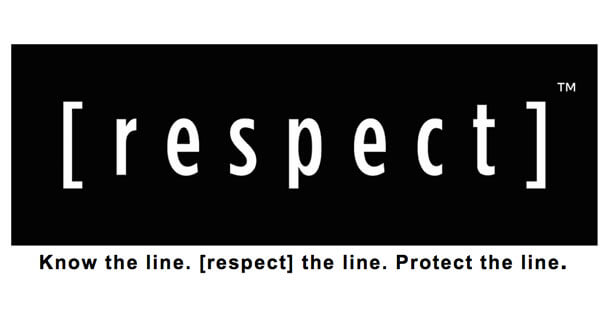 [respect] the line