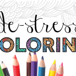 De-stress with Coloring