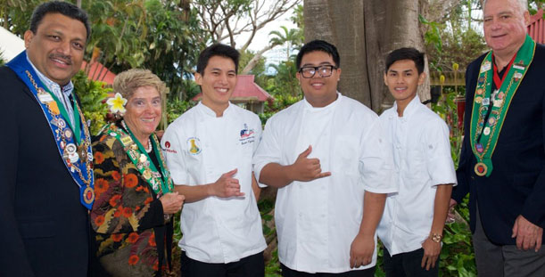 KCC Student Wins Junior Chef Competition
