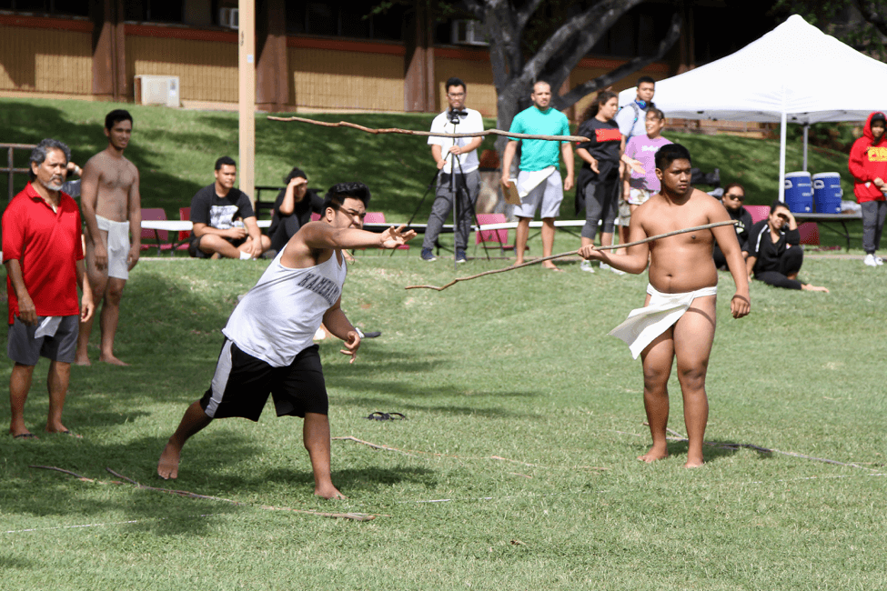 Spear throwing