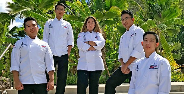 Team Hawai'i Competing for the National Gold