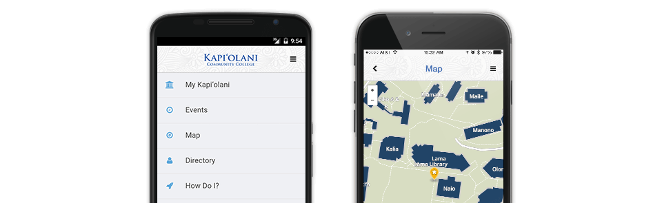 Kapi'olani Community College Mobile App